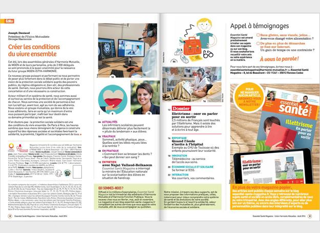 ESM magazine aout 2016