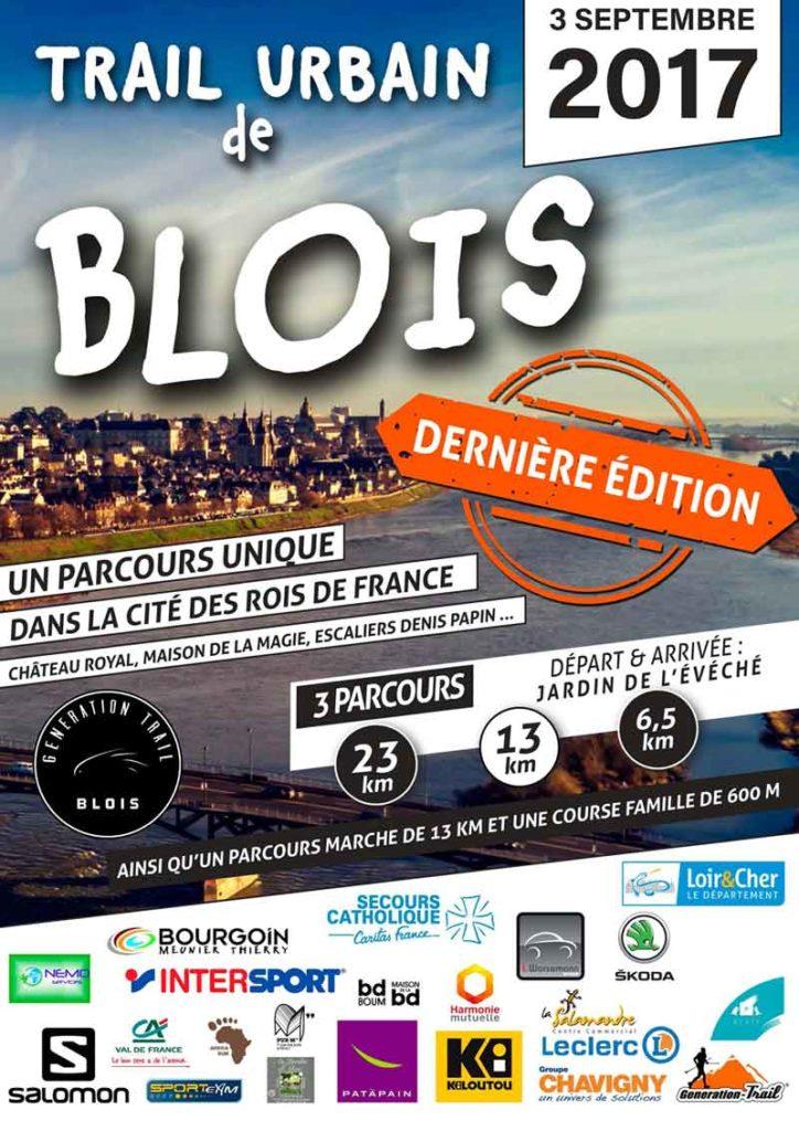 Trail Urbain de Blois – 3 septembre 2017