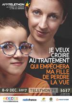 Affiche Téléthon 2017 Anaelle crédit DR