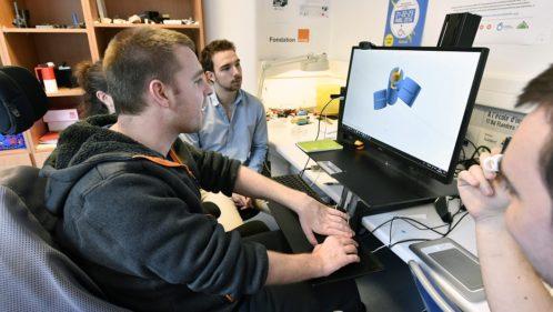 Au Rehab-Lab de Kerpape, l'impression 3D au service du handicap