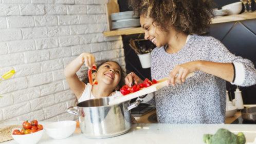Cuisine entre mère et fille à Sarrebourg