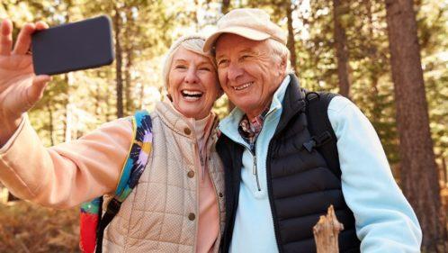 Des seniors très connectés aux réalités