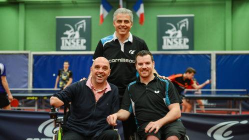 Vis mon sport : Jean-Philippe Gatien s'essaie au tennis de table fauteuil