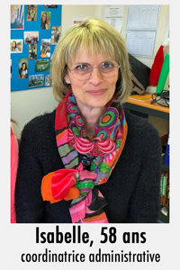 Colombelles - Portrait d'Isabelle coordinatrice administrative