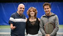 Vis mon sport : Fabrice Santoro découvre le blind tennis