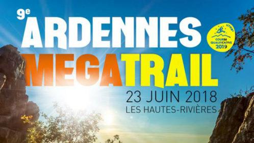 affiche Ardennes Mega trail 2018