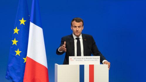 Emmanuel Macron souligne l'engagement mutualiste dans les évolutions du système de santé
