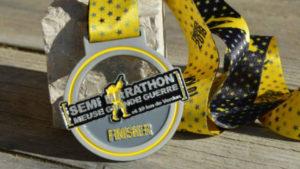 Semi Marathon Meuse Grande Guerre medaille