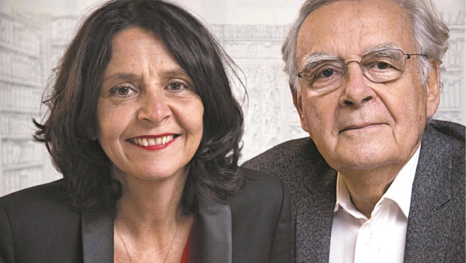 Cécile et Bernard Pivot : deux générations de lecteurs