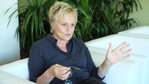 Muriel Robin, son combat pour les femmes battues