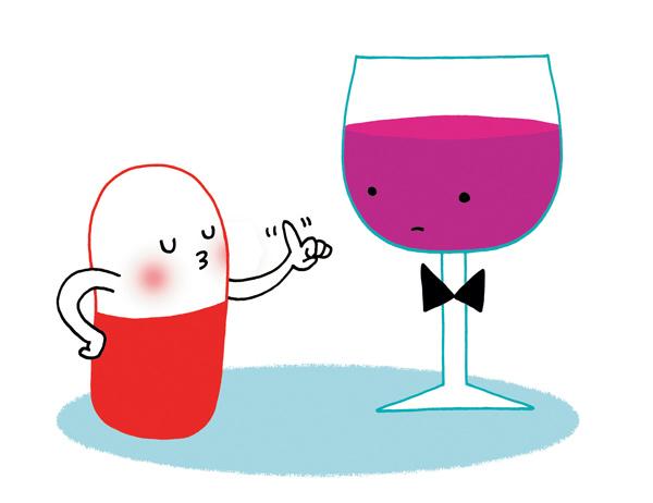 Vrai/faux antibiotiques - alcool