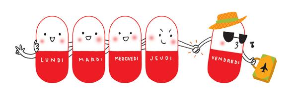 Vrai/faux antibiotiques - durée du traitement