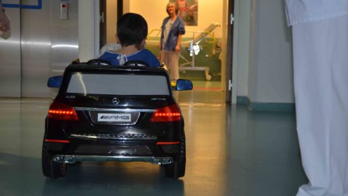 Des petites voitures pour dépasser la peur du bloc opératoire