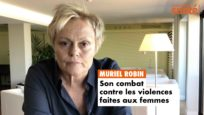 Muriel Robin s'engage contre les violences conjugales