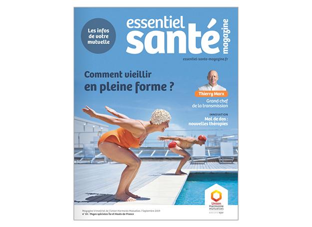 Essentiel santé magazine comment vieillir en pleine forme thierry marx les infos de votre mutuelle septembre 2019 union harmonie mutuelles groupe vyv