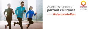 Harmonie Mutuelle avec les runners partout en France