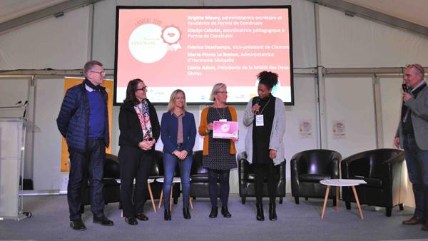 Prix ESS de l'Utilité sociale à l'association nantaise Permis de construire