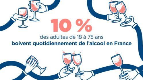 Consommation d'alcool : où boit-on le plus en France ?
