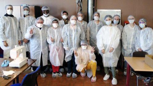 Projet Résilience : la fabrication de masques en mode solidaire