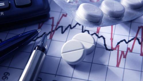 Médicaments et graphique