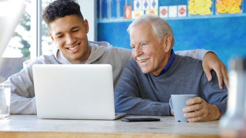 Relation adolescent et grand-parent