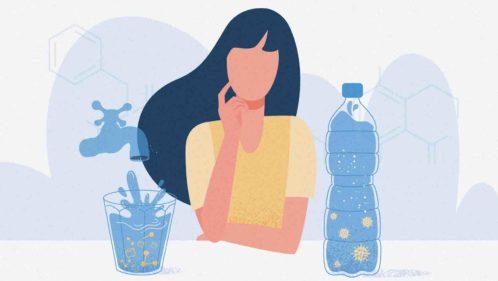 eau robinet ou bouteille