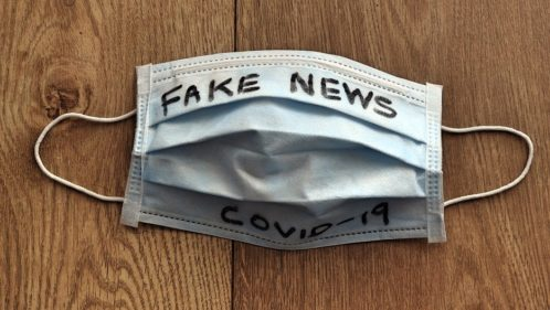 Masque chirurgical fake news