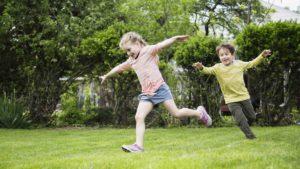activité physique enfants extérieur