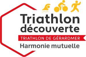 Logo de l'épreuve Découverte Harmonie Mutuelle u Triathlon de Gérardmer