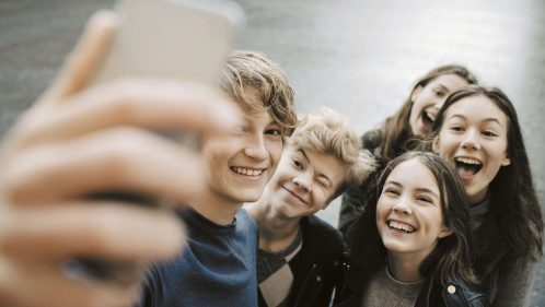 Harcèlement jeunes selfie