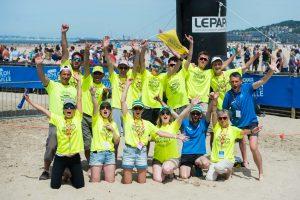 bénévoles triathlon
